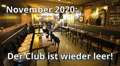 Der leere Cotton Club im November 2020